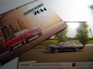 Oldtimer-Kalender 2014